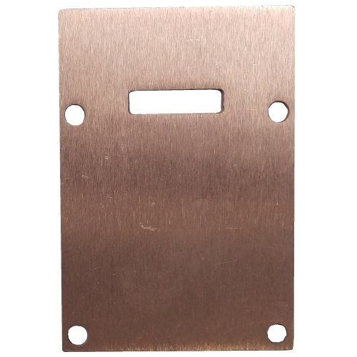 Sanctuary Canopy Bar END PLATE Plain Aluminium