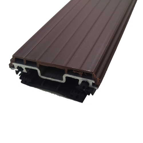 2M Vale Timber Support Glazing Bar For Glass Brown