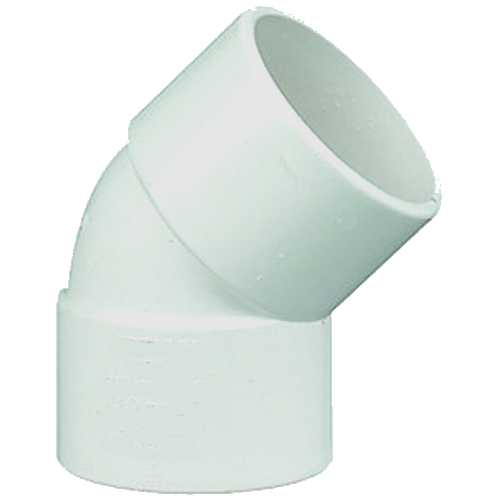 40mm Solvent Waste Pipe 135deg Bend
