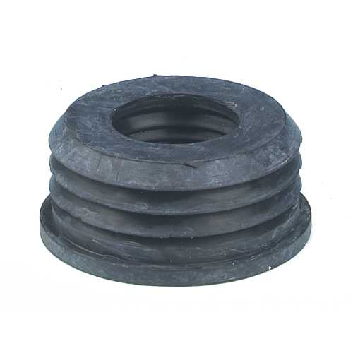 50mm Waste Rubber Adaptor - For Strap On Boss