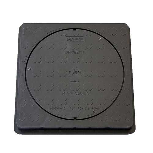 320mm Square Cover & Frame