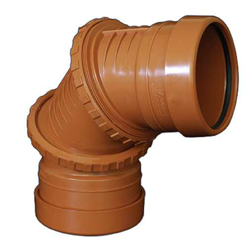 110mm 0-95deg Variable Bend Underground Drainage - DOUBLE SOCKET