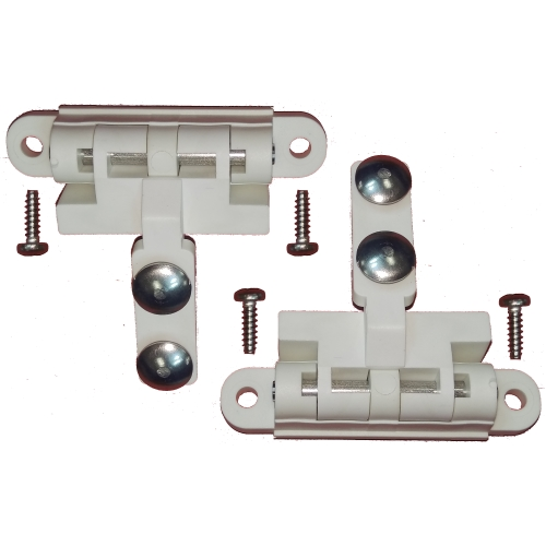 York Pivot Mounting WHITE (1 Pair)