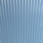700 x 1200mm Door Canopy Sheet Twinwall Clear