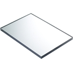 700 x 1200mm Door Canopy Sheet Solid Clear