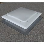 Roof Dome ILLUMI-THERM Convex 600x600mm Opal polycarbonate multiwall