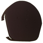 Dry Verge Round Ridge Cap in Brown