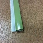 2.5M 2 Part Edge Trim Gloss Grape Green