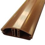4M Glen Timber Support Glazing Bar for 6 / 10mm BROWN