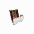 Ogee To Square Gutter Adaptor White