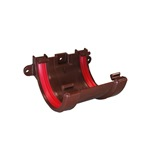 Round Gutter Union Bracket Brown