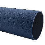 2.75M Down Pipe Cast Iron Effect Black