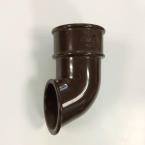 Round Downpipe Shoe Outlet Brown