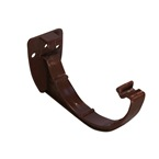 Round Gutter Support Bracket Brown