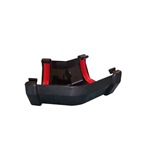 Square Gutter Angle 150° Black