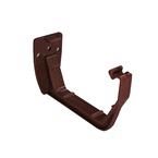 Square Gutter Support Bracket / Clip Brown