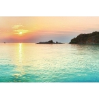 Kitchen Splashback 2440x610mm Picture: Sunset Island