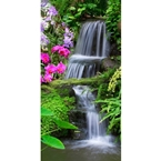 Designer Shower Wall Panel 2440 x 1220mm Picture: Tropical Falls