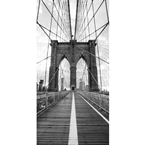 Designer Shower Wall Panel 2440 x 1220mm Picture: Brooklyn Bridge