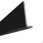 2.5M x 410mm x 10mm Cappit Fascia Board Solid Black
