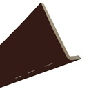 2.5M x 410mm x 10mm Cappit Fascia Board Solid Brown