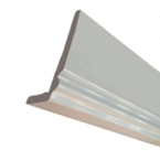 2.5M x 300mm x 10mm Cappit Ogee Fascia Board White