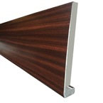 2.5M x 150mm x 18mm Replacement Fascia Mahogany