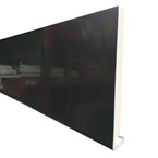 2.5M x 225mm x 18mm Replacement Fascia Anthracite Grey