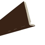 2.5M x 250mm x 18mm Replacement Fascia Solid Brown