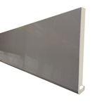 5M x 150mm x 18mm Replacement PVC Fascia Storm Grey