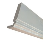 2.5M 150mm x 18mm Ogee Fascia Board White