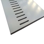 2.5M x 600mm x 10mm Vented Soffit Board White