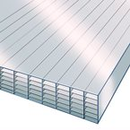 1.0M x 700mm 35mm Polycarbonate Sheet CLEAR