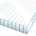 2.5M x 2100mm 35mm Polycarbonate Sheet CLEAR