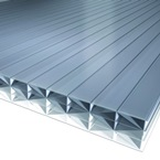4M x 700mm Bonus 25mm Polycarbonate Sheet Heatguard Opal