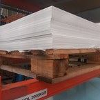 25 Sheets of 2mm White PVC 8ft x4ft (2440mmx1220mm)