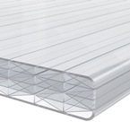 2.5M x 1045mm Finest 25mm Polycarbonate Sheet Opal /White