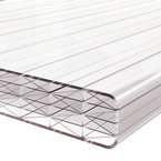 5M x 2090mm Finest 25mm Polycarbonate Sheet Clear