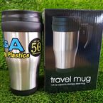50th Anniversary 14oz Stainless Steel Travel Mug
