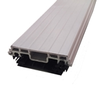 4M Vale Timber Support Glazing Bar For Glass White