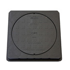 470mm Ø Square Cover & Frame - Underground Drainage