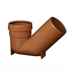 110mm Underground Drainage Low Trap