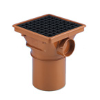110mm Underground Drainage Square Hopper