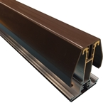 2.5M York8L Self Support Glazing Bar for 25/35mm Poly Brown