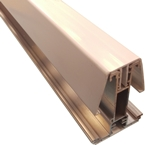 3.5M York8S Self Support Glazing Bar for 40/50mm Poly White