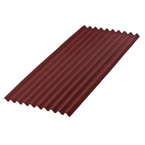 2M x 950mm Onduline Bitumen Corrugated Roofing Sheet RED