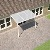 White Carport Kit 2.0M(P) x 3.2M(W) Haze Polycarbonate (Sanctuary)
