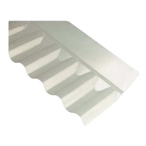 3 Corrugated Wall Flashing Clear Pvc 660mm Long