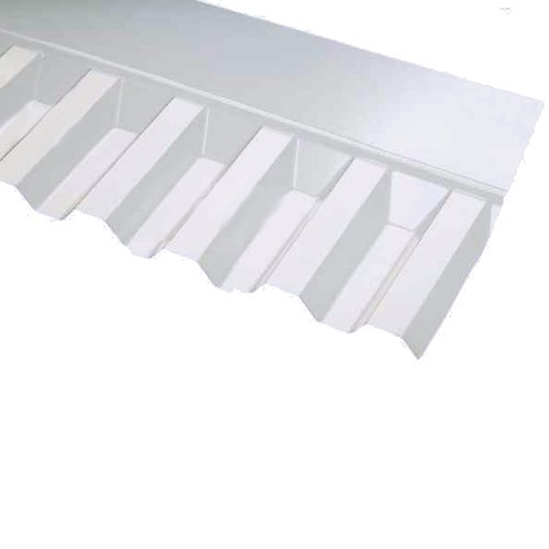 Box Profile Pvc Wall Flashing 660mm Cover Clear