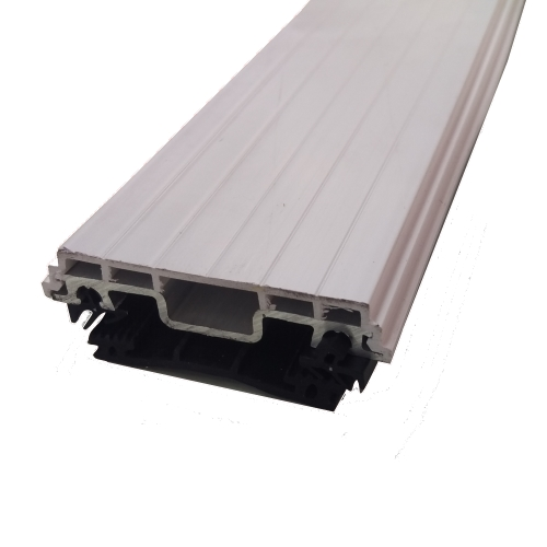 3m Vale Timber Support Glazing Bar For Glass White